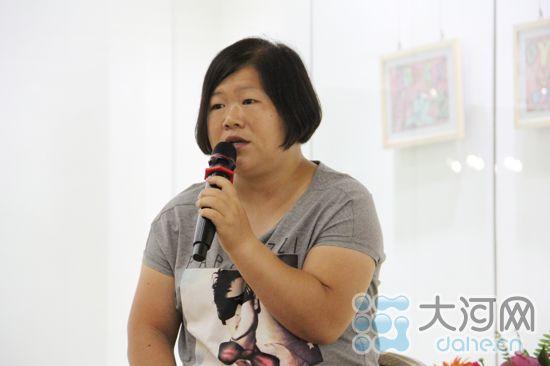 孤独症儿童作品展览在郑举行 将持续至本月15日